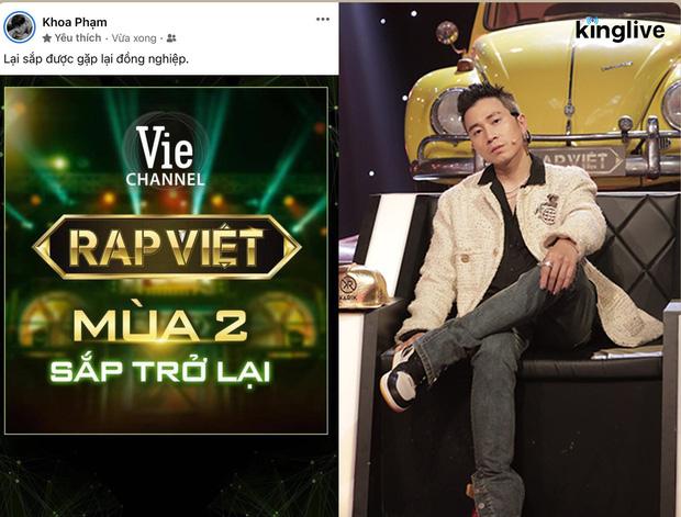 Rap Việt mùa 2: Karik chắc suất tham gia, những chiếc ghế nóng còn lại sẽ thuộc về ai? - Ảnh 2.