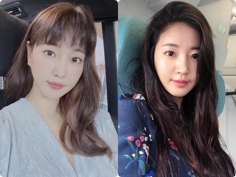 """Nàng Hậu """"ngực khủng"""" xứ Hàn: Muốn trẻ xinh ở tuổi 43, chỉ cần thay đổi kiểu tóc mái - Ảnh 2."""