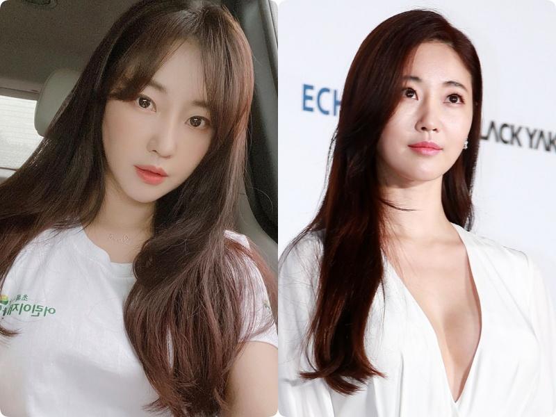 """Nàng Hậu """"ngực khủng"""" xứ Hàn: Muốn trẻ xinh ở tuổi 43, chỉ cần thay đổi kiểu tóc mái - Ảnh 3."""