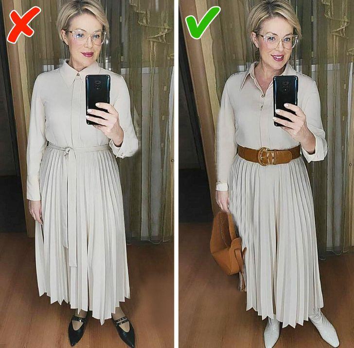 Stylist ngoài 40 chỉ ra những sai lầm mà các chị em cùng tuổi rất hay mắc phải khiến bản thân vừa già vừa kém sang - Ảnh 7.