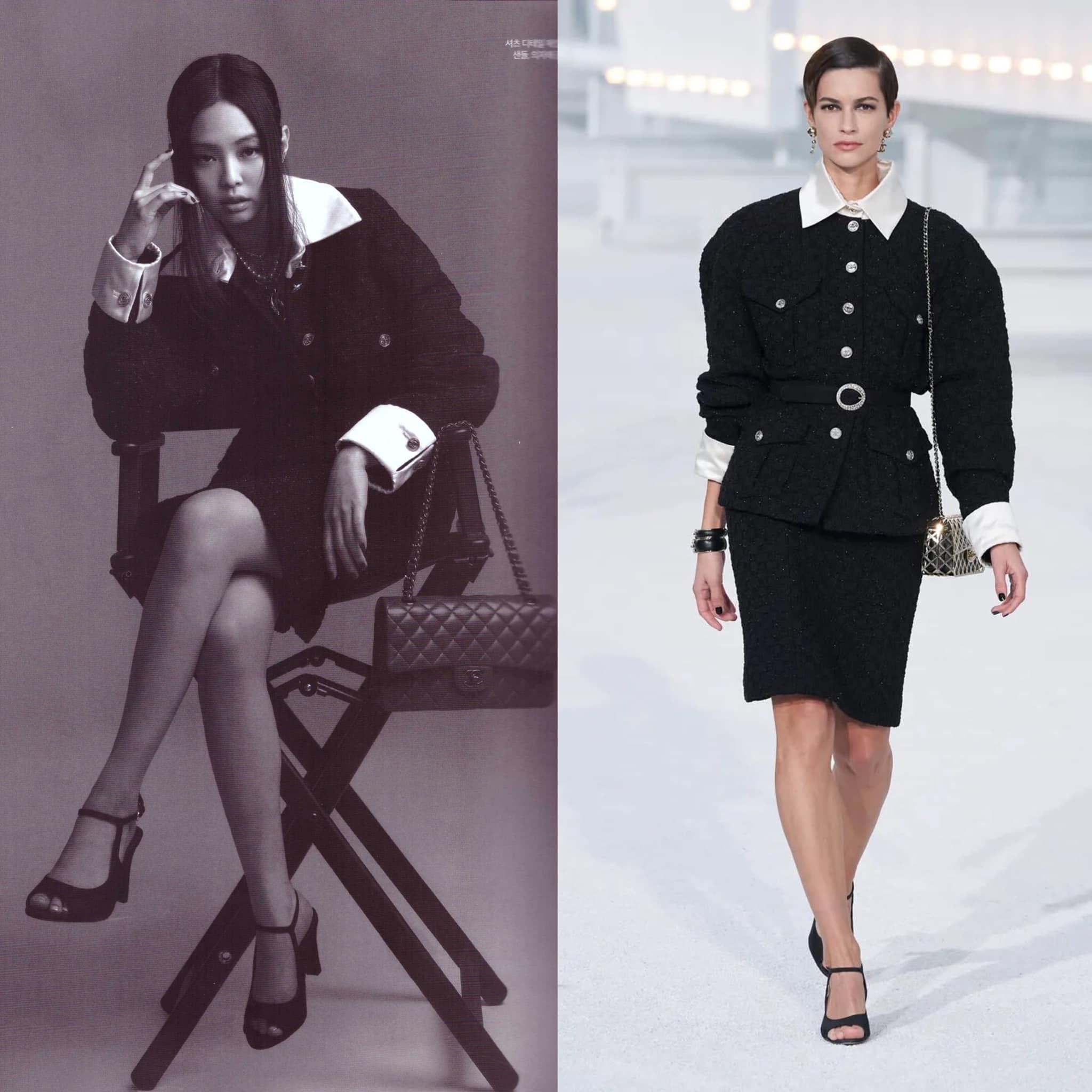 Netizen khẳng định: Jennie sinh ra là dành cho Chanel, nhìn loạt ảnh này hiểu phần nào lý do - Ảnh 3.