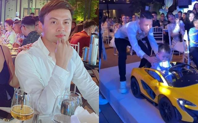 """Cùng sinh năm 1983, Shark Khoa """"chạnh lòng"""" khi được bạn thân Minh Nhựa mời dự sinh nhật cháu ngoại  - Ảnh 3."""