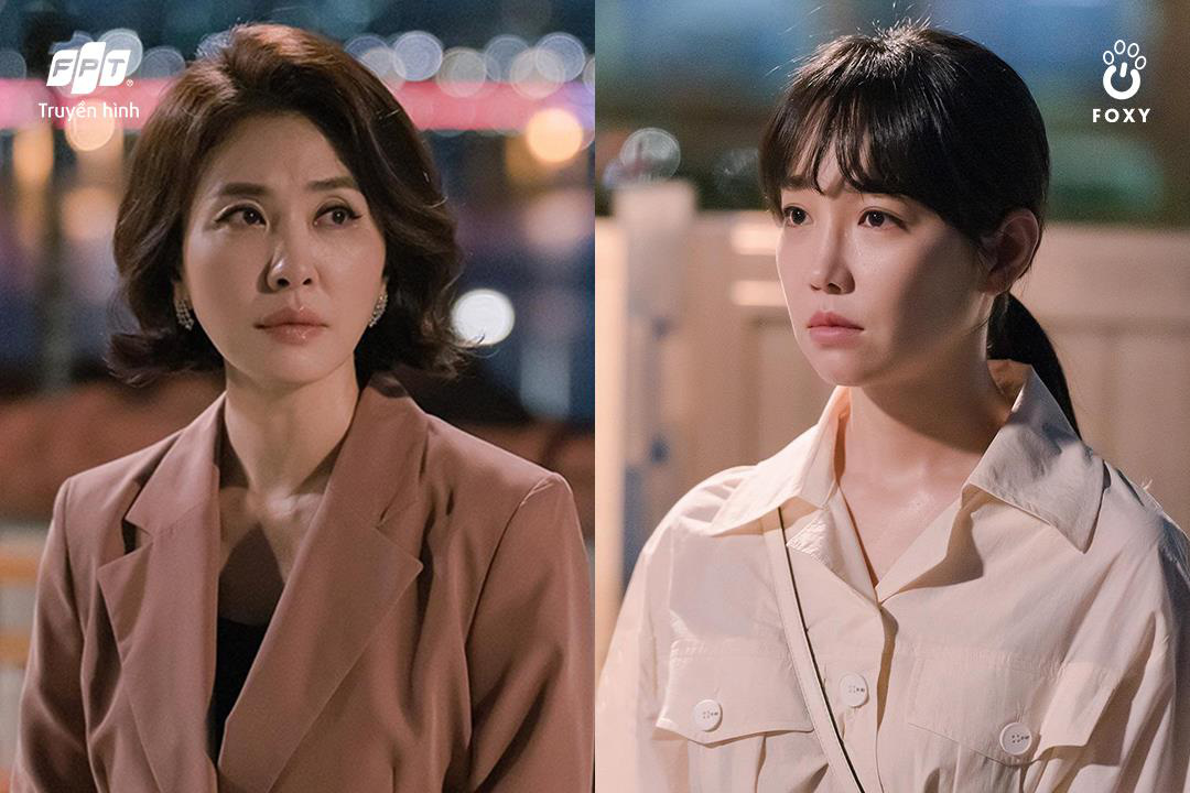Cú đổi màu ngoạn mục giữa 'ác nữ' Lee Yoo Ri và 'bà mẹ quốc dân' Lee Il Hwa trong Ngàn Lời Nói Dối 001