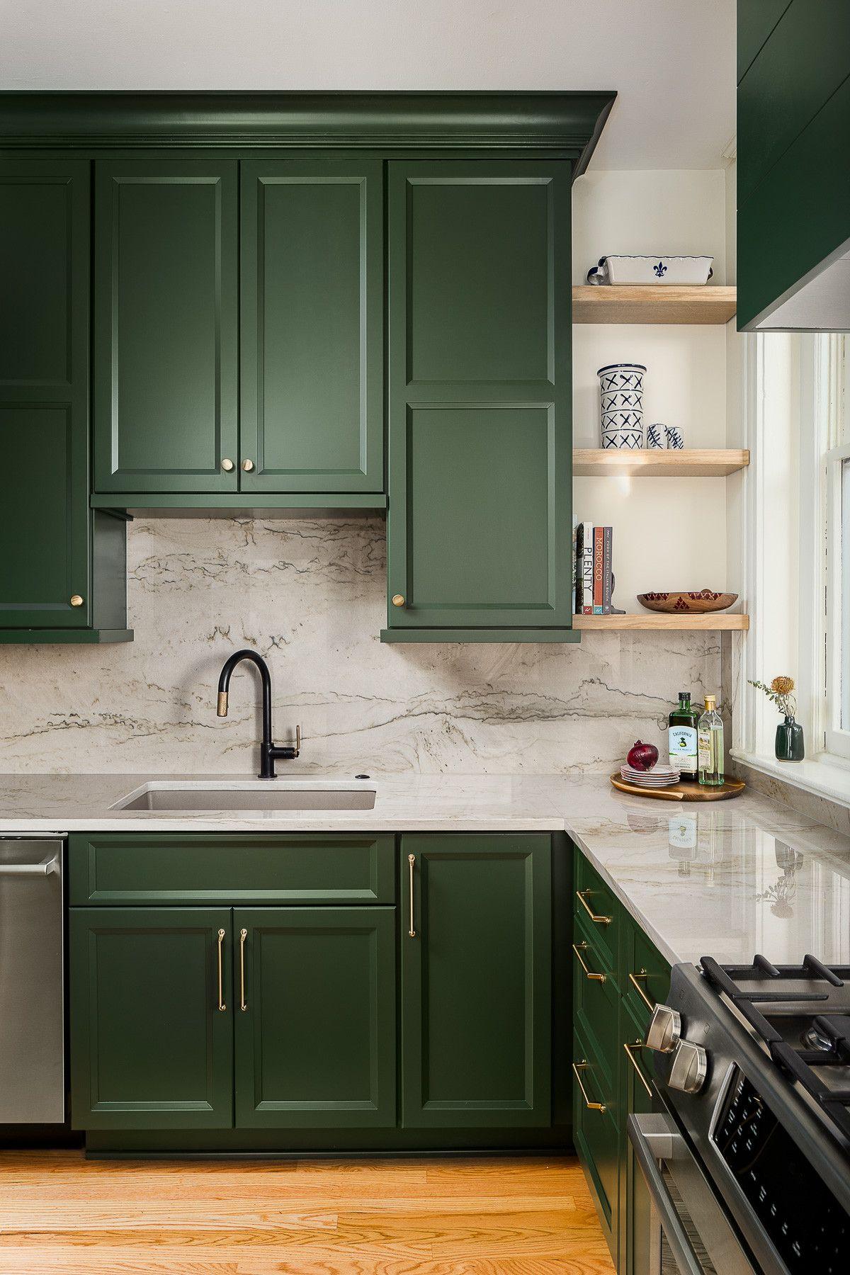 Những tông màu nổi bần bật nhiều người yêu thích lựa chọn trang trí cho căn bếp nhà mình - Ảnh 3.