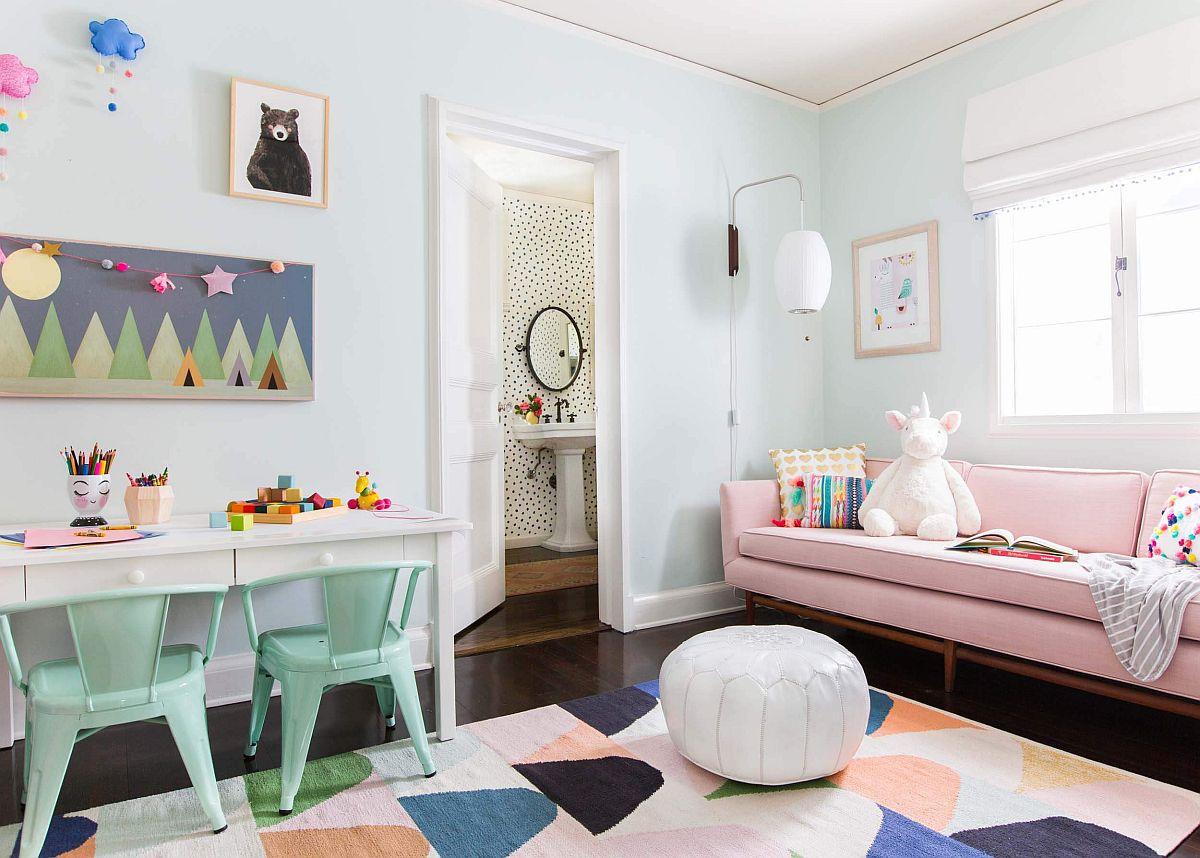 Phòng ngủ của bé, những xu hướng màu sắc và phong cách thời thượng của năm 2021 - Ảnh 3.