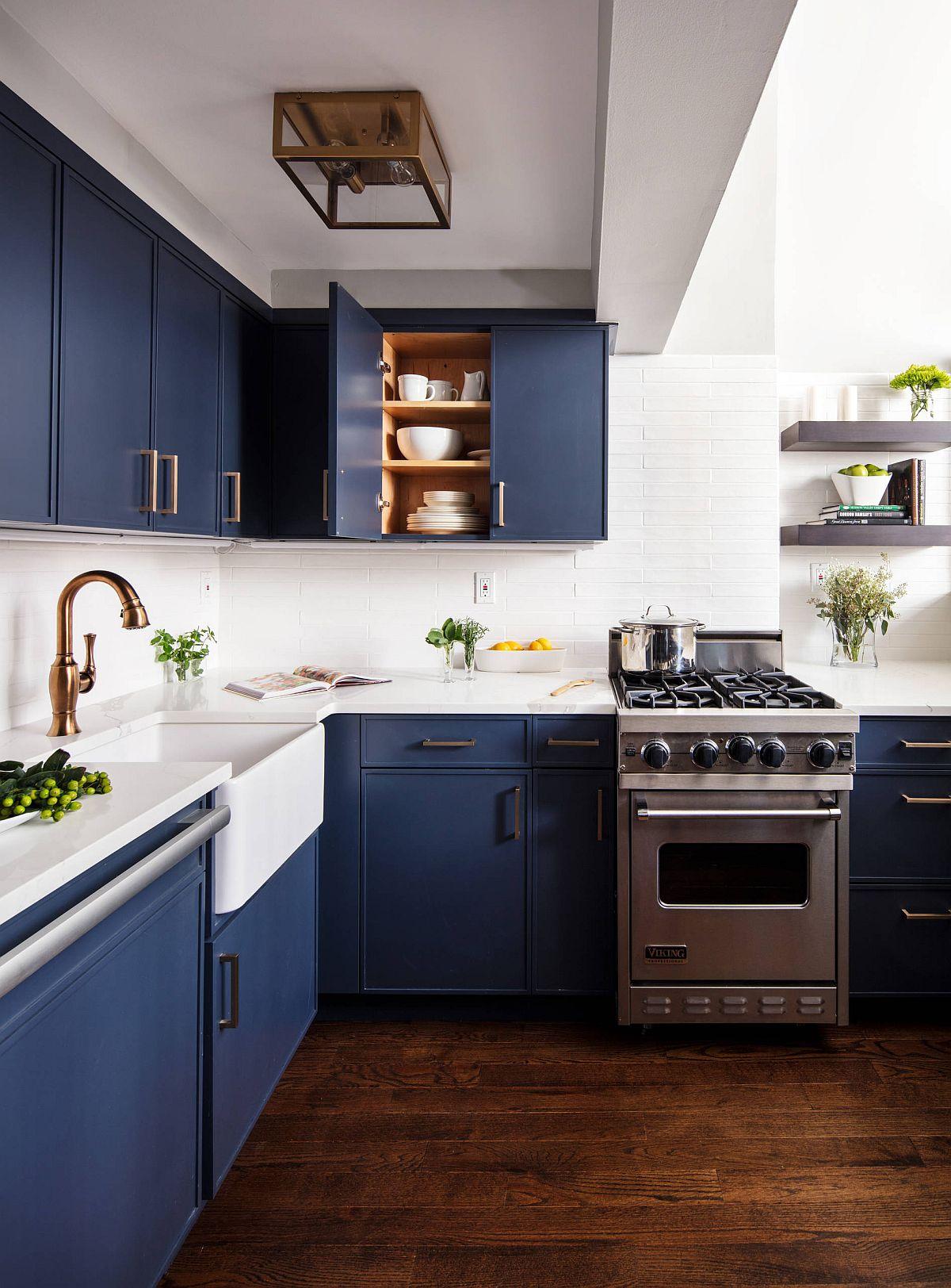 Những tông màu nổi bần bật nhiều người yêu thích lựa chọn trang trí cho căn bếp nhà mình - Ảnh 4.