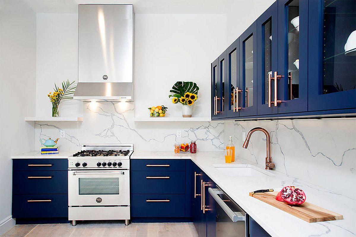 Những tông màu nổi bần bật nhiều người yêu thích lựa chọn trang trí cho căn bếp nhà mình - Ảnh 5.