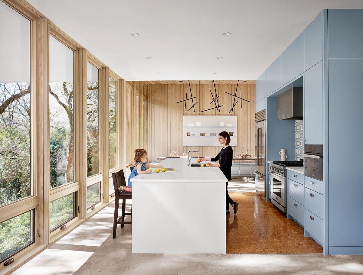 Những tông màu nổi bần bật nhiều người yêu thích lựa chọn trang trí cho căn bếp nhà mình - Ảnh 6.