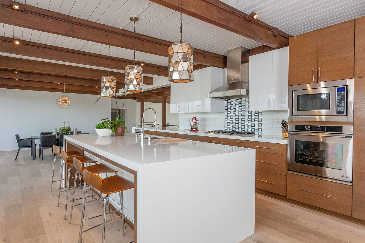 Những tông màu nổi bần bật nhiều người yêu thích lựa chọn trang trí cho căn bếp nhà mình - Ảnh 9.