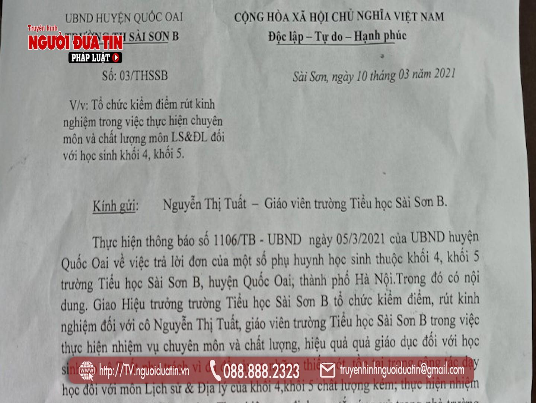 Vụ giáo viên dạy giỏi bị phân công dọn vệ sinh ở Hà Nội: (Bài 2) Tận cùng của sự trù dập! - Ảnh 5.