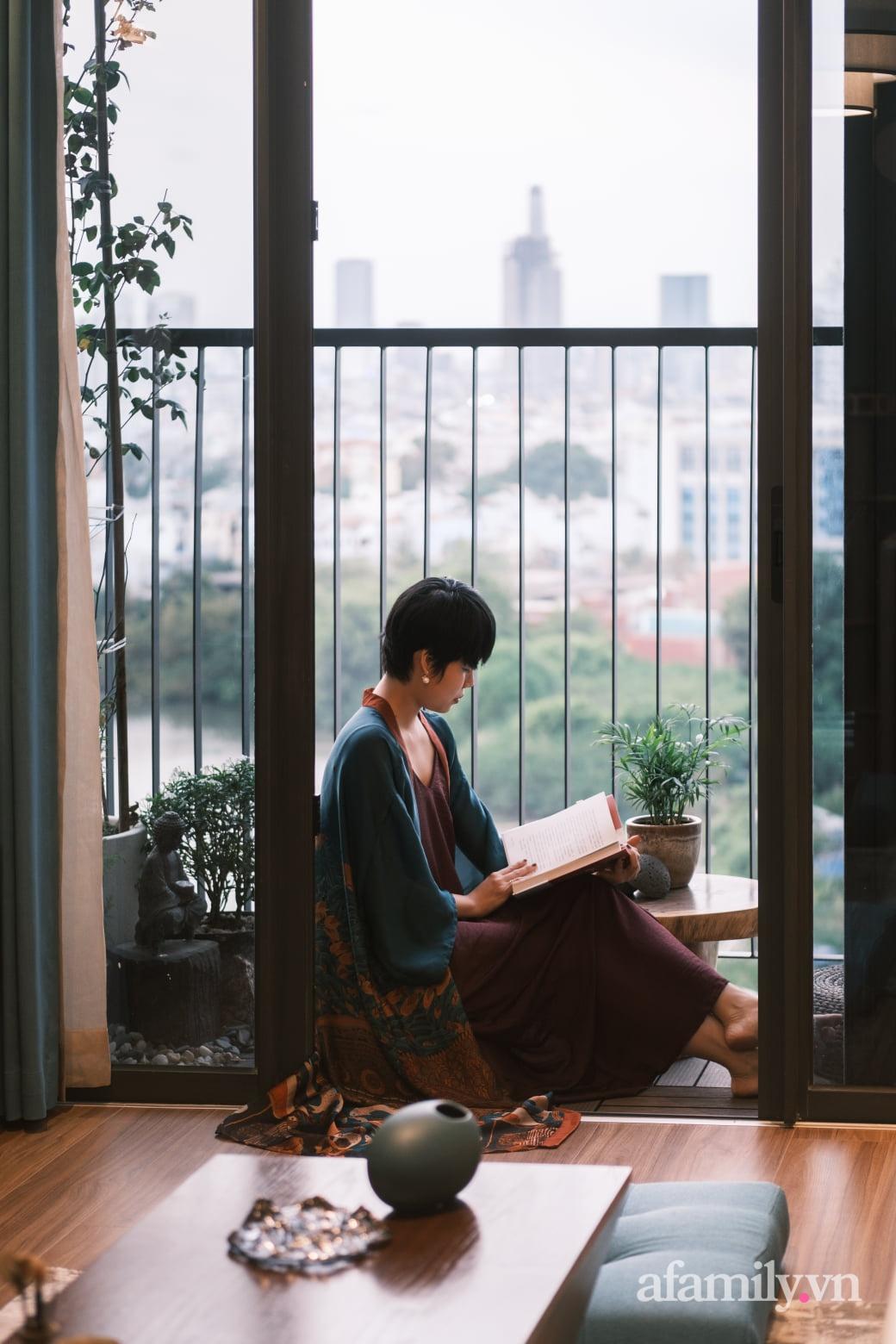 Căn hộ 60m² đẹp tĩnh lặng và tinh tế mang hơi thở của Zen ở quận 7 Sài Gòn - Ảnh 16.