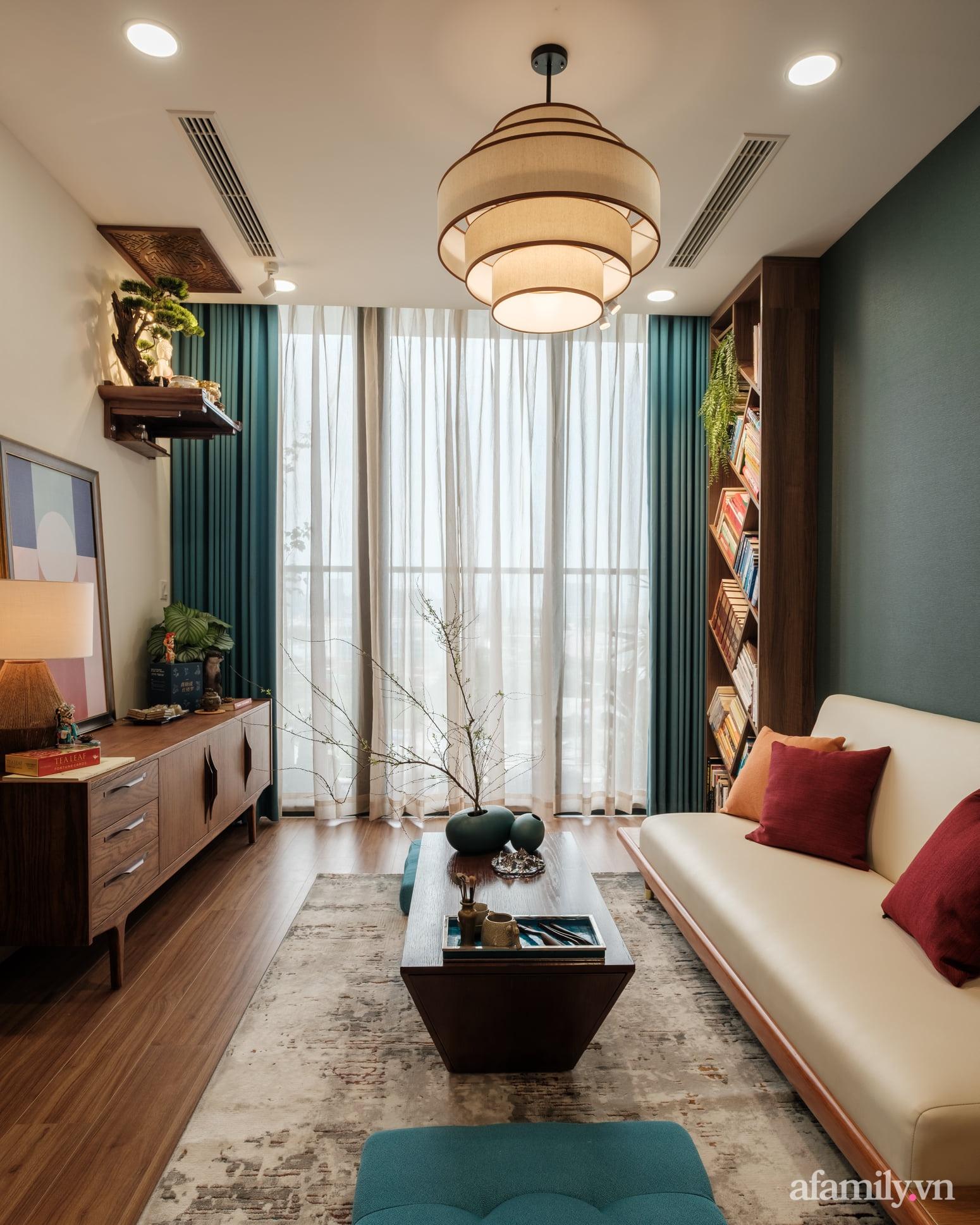 Căn hộ 60m² đẹp tĩnh lặng và tinh tế mang hơi thở của Zen ở quận 7 Sài Gòn - Ảnh 3.