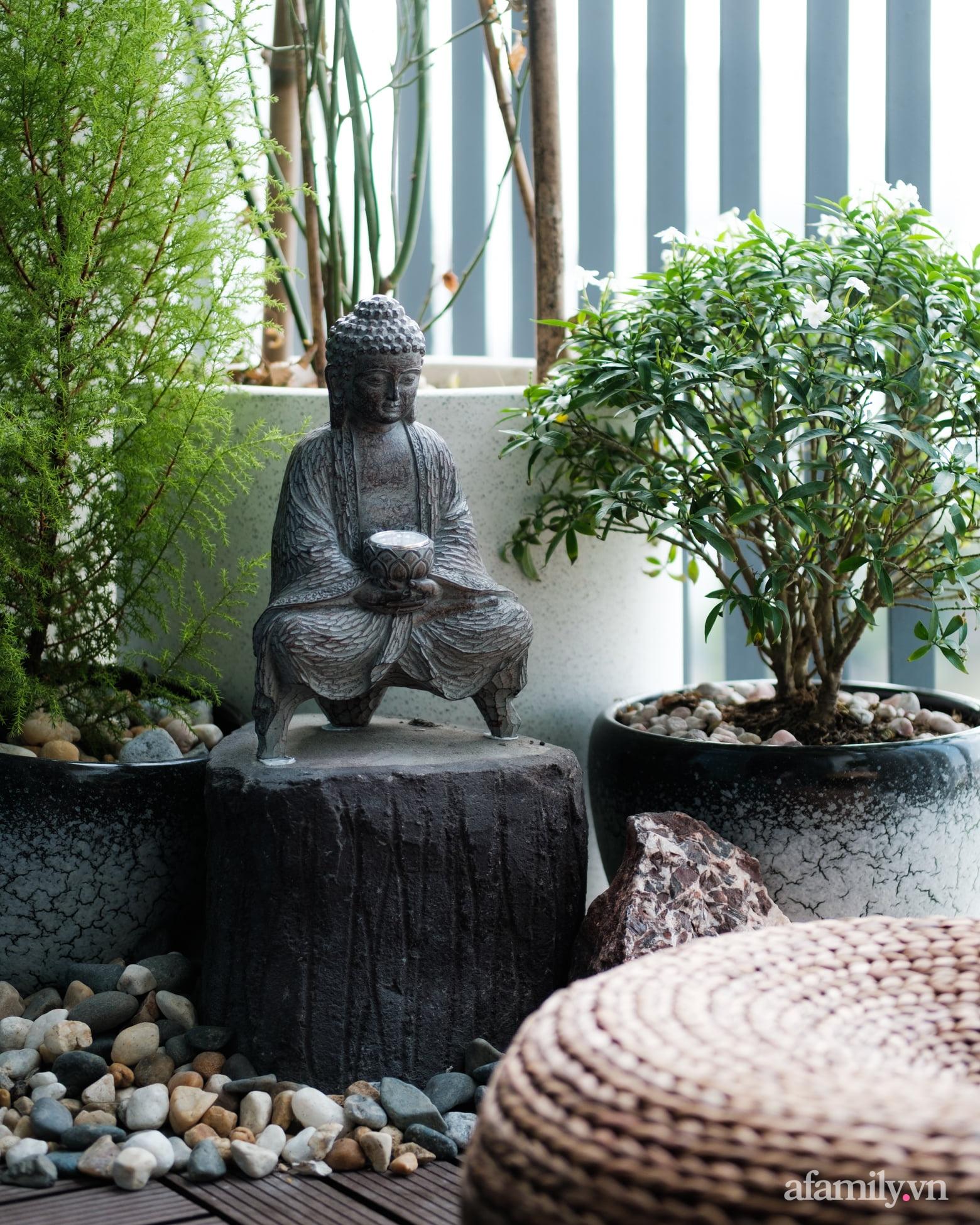 Căn hộ 60m² đẹp tĩnh lặng và tinh tế mang hơi thở của Zen ở quận 7 Sài Gòn - Ảnh 13.
