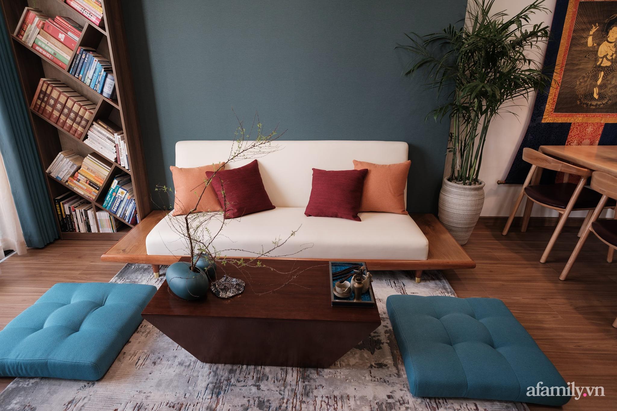 Căn hộ 60m² đẹp tĩnh lặng và tinh tế mang hơi thở của Zen ở quận 7 Sài Gòn - Ảnh 4.