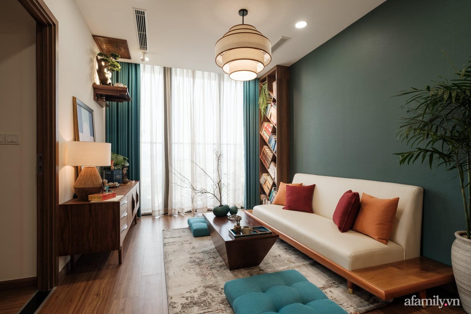 Căn hộ 60m² đẹp tĩnh lặng và tinh tế mang hơi thở của Zen ở quận 7 Sài Gòn - Ảnh 2.