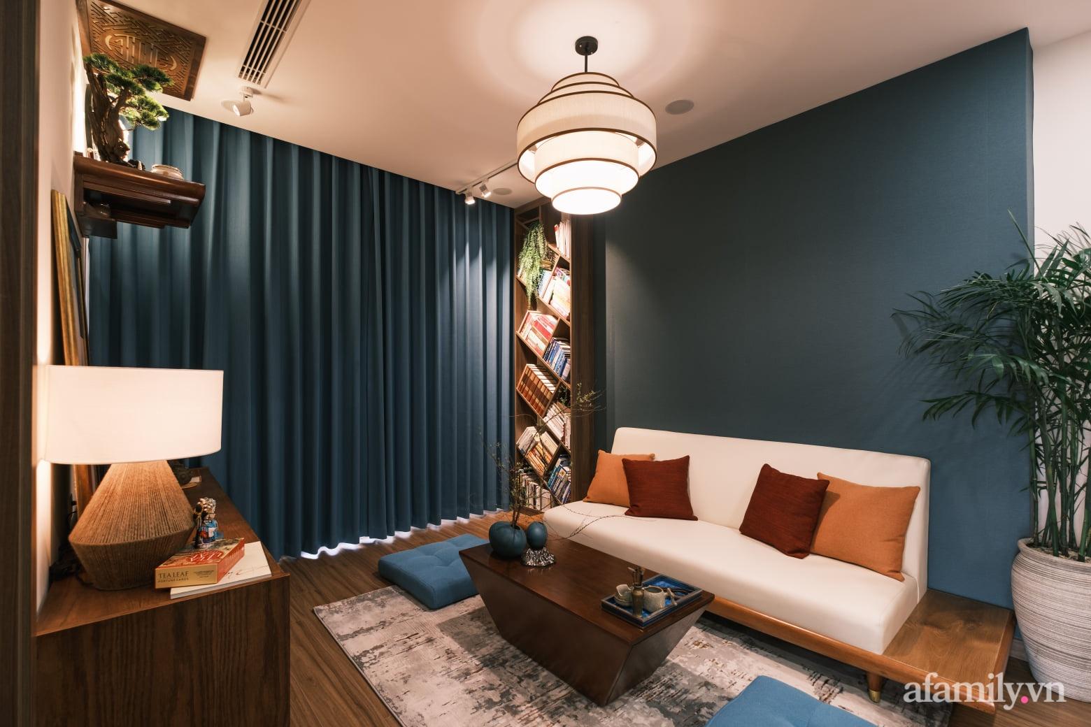 Căn hộ 60m² đẹp tĩnh lặng và tinh tế mang hơi thở của Zen ở quận 7 Sài Gòn - Ảnh 8.