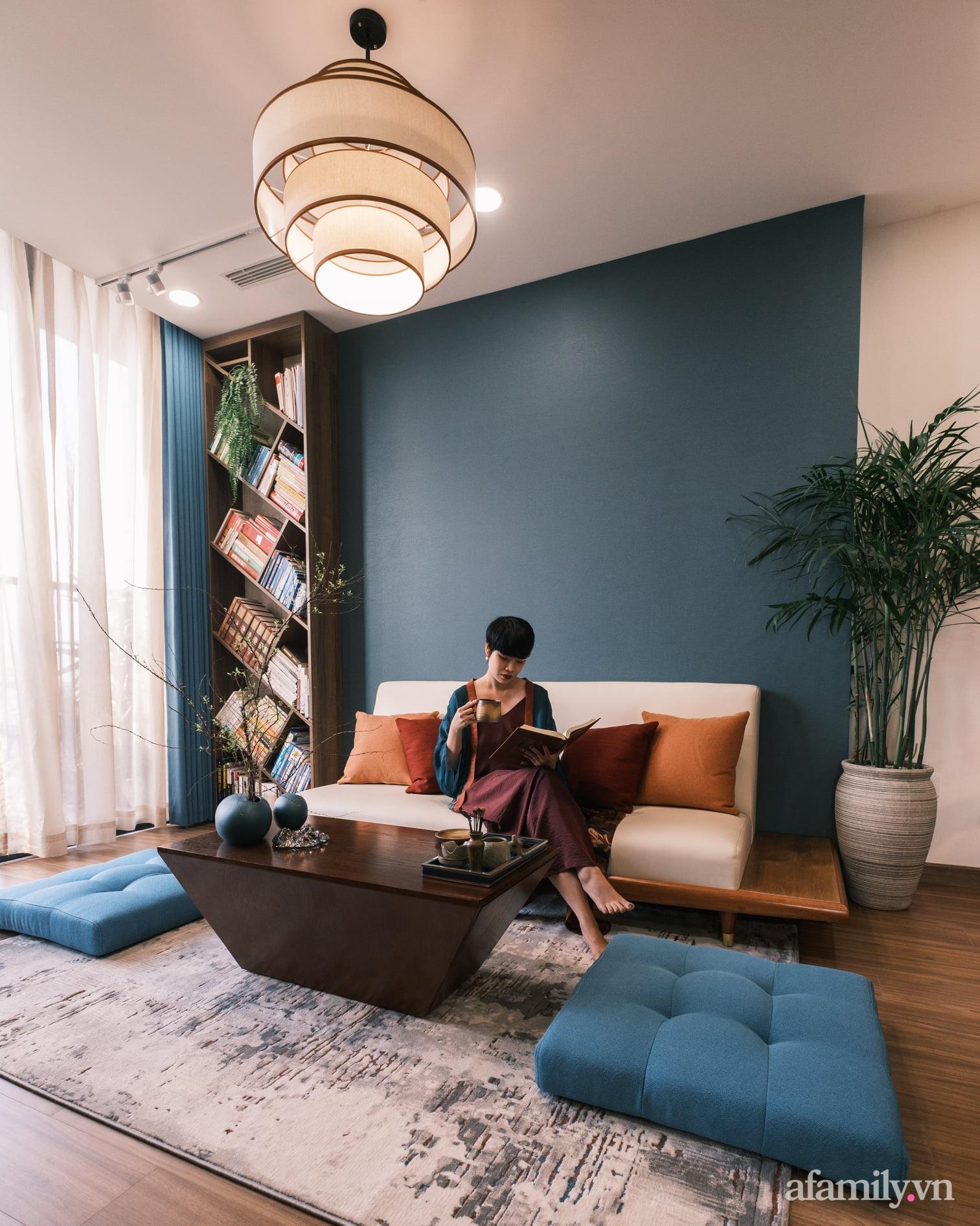 Căn hộ 60m² đẹp tĩnh lặng và tinh tế mang hơi thở của Zen ở quận 7 Sài Gòn - Ảnh 9.