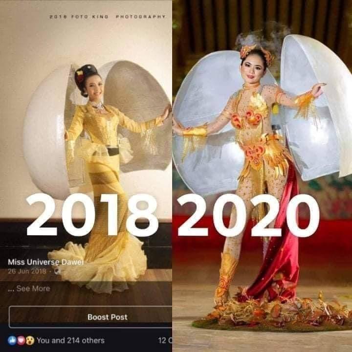 Quốc phục của Hoa hậu Khánh Vân tại Miss Universe 2020 bị tố đạo nhái, nhà thiết kế nói gì?