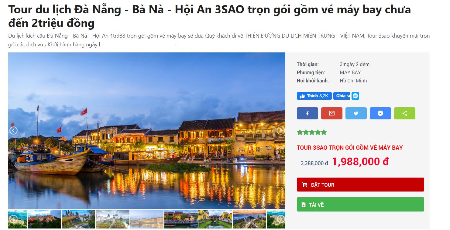 Đầu tháng 4 dân mê xê dịch lên kế hoạch tới Đà Nẵng ngay vì toàn combo/tour giá rẻ cho 3N2Đ chỉ từ 1,3 triệu đồng/người - Ảnh 2.
