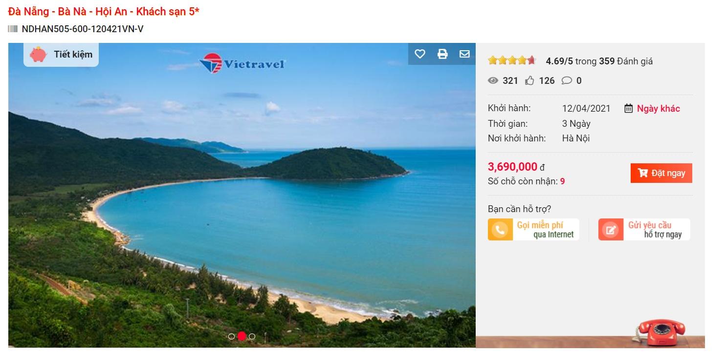 Đầu tháng 4 dân mê xê dịch lên kế hoạch tới Đà Nẵng ngay vì toàn combo/tour giá rẻ cho 3N2Đ chỉ từ 1,3 triệu đồng/người - Ảnh 8.