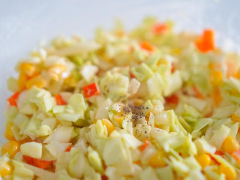 Mách bạn làm món bắp cải trộn giòn giòn ngon miệng - Ảnh 12.