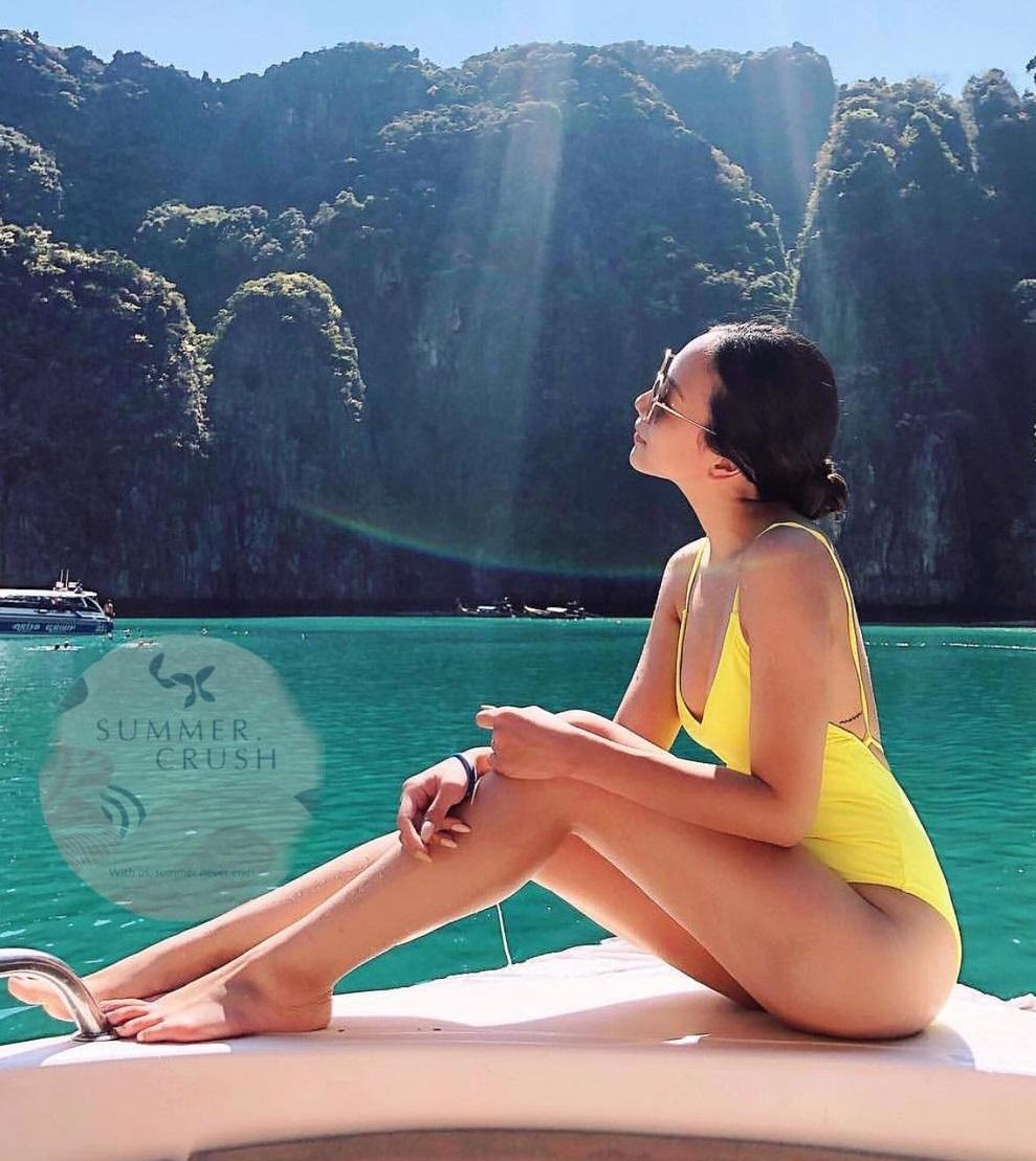 Son Ye Jin đến Hà Hồ đều mê kiểu đồ bơi che bụng mỡ cực siêu này, chị em update ngay để Hè này tha hồ khoe dáng - Ảnh 15.