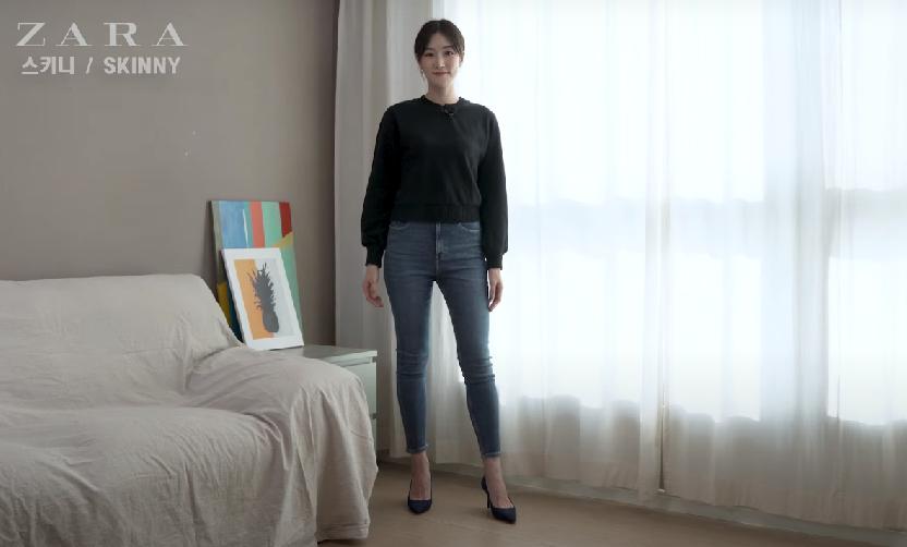 Blogger người Hàn chỉ ra dáng quần jeans hack chân dài vi diệu nhất của Zara - Ảnh 2.