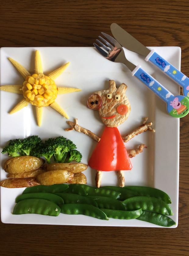 """Thấy con lười ăn rau, ông bố liền tạo nên """"bữa ăn hạnh phúc"""", nhìn thôi cũng thấy thèm - Ảnh 2."""