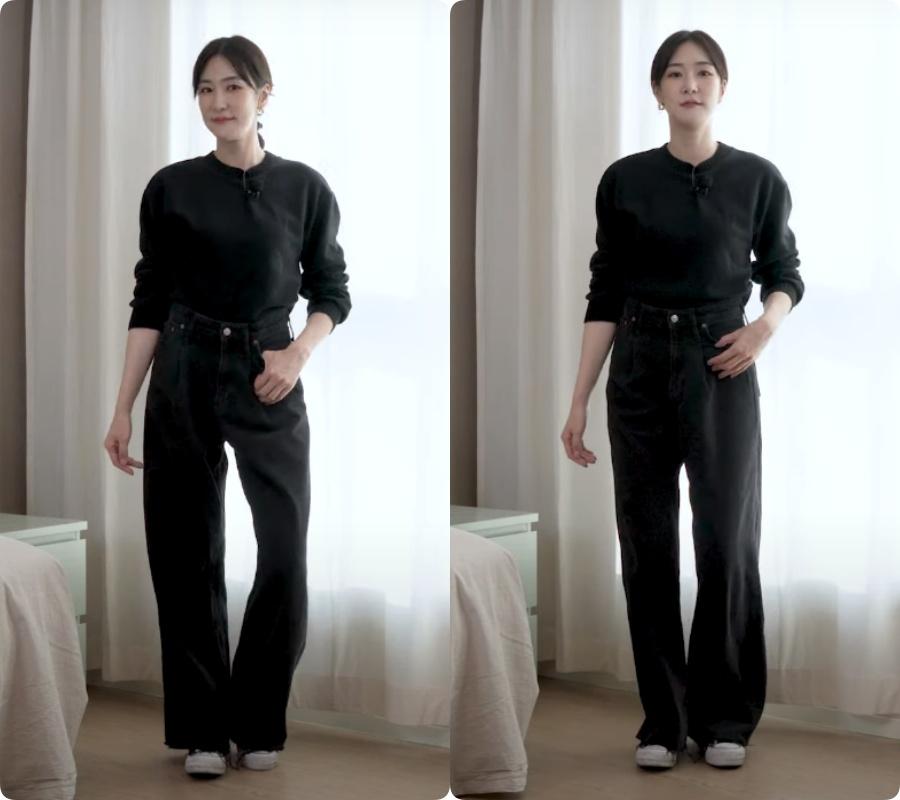 Blogger người Hàn chỉ ra dáng quần jeans hack chân dài vi diệu nhất của Zara - Ảnh 14.