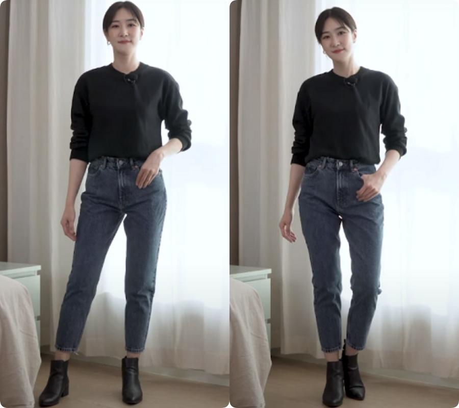 Blogger người Hàn chỉ ra dáng quần jeans hack chân dài vi diệu nhất của Zara - Ảnh 6.