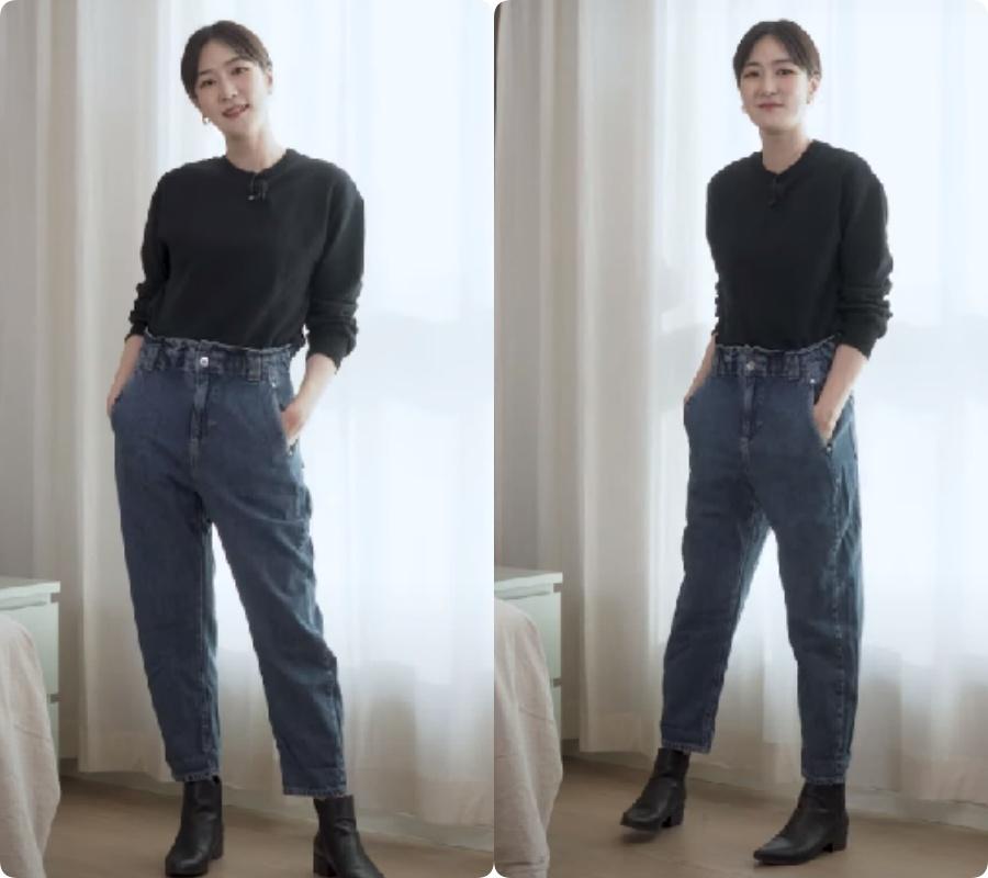 Blogger người Hàn chỉ ra dáng quần jeans hack chân dài vi diệu nhất của Zara - Ảnh 8.