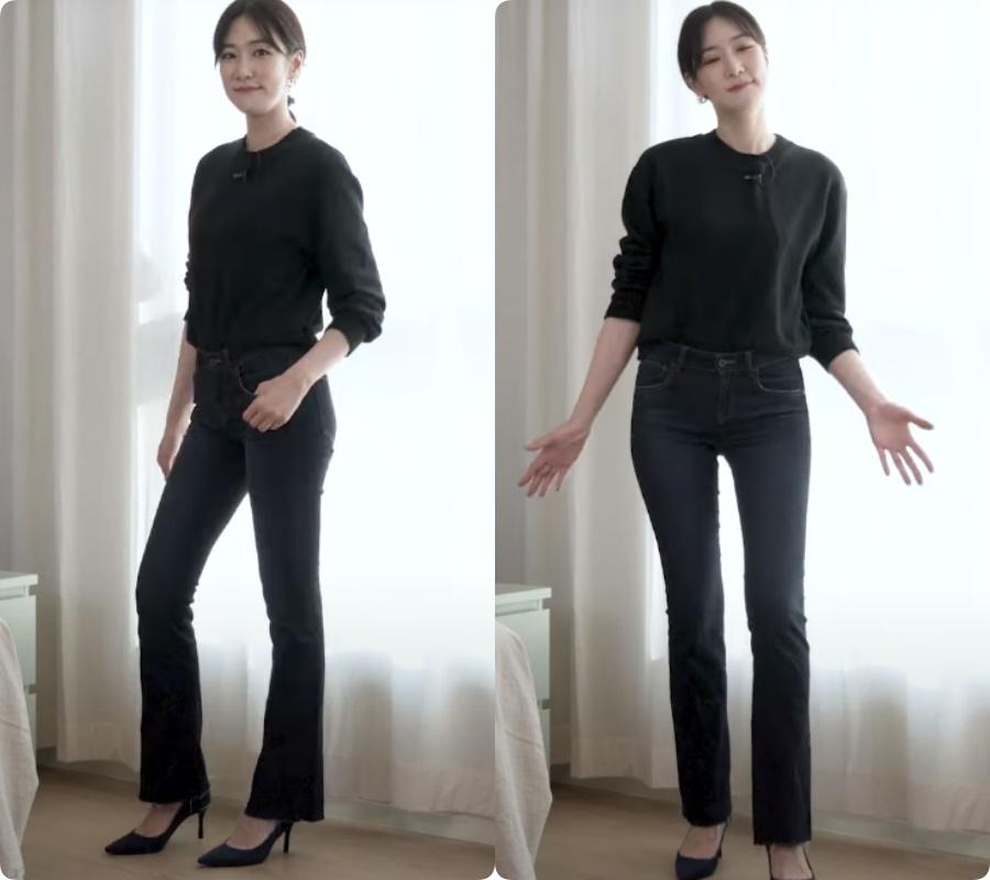 Blogger người Hàn chỉ ra dáng quần jeans hack chân dài vi diệu nhất của Zara - Ảnh 10.