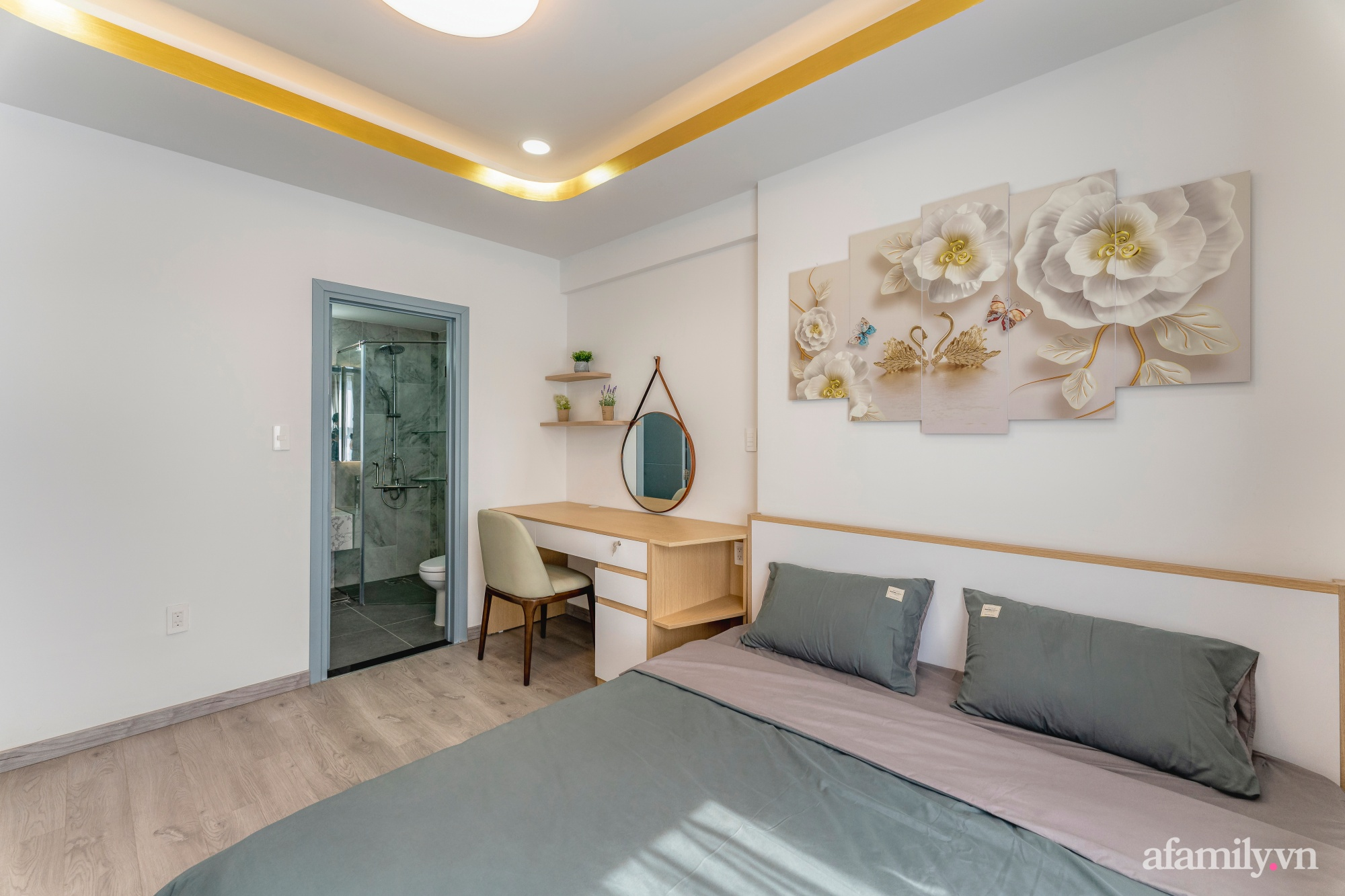 Căn hộ 70m² ghi điểm với không gian thoáng sáng cùng sắc màu gần gũi với thiên nhiên ở Sài Gòn - Ảnh 21.