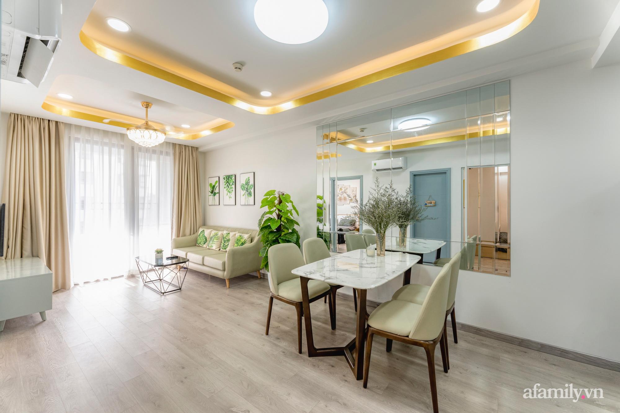 Căn hộ 70m² ghi điểm với không gian thoáng sáng cùng sắc màu gần gũi với thiên nhiên ở Sài Gòn - Ảnh 4.