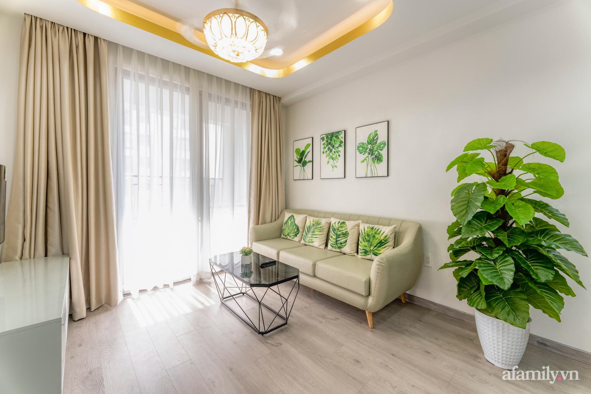 Căn hộ 70m² ghi điểm với không gian thoáng sáng cùng sắc màu gần gũi với thiên nhiên ở Sài Gòn - Ảnh 8.
