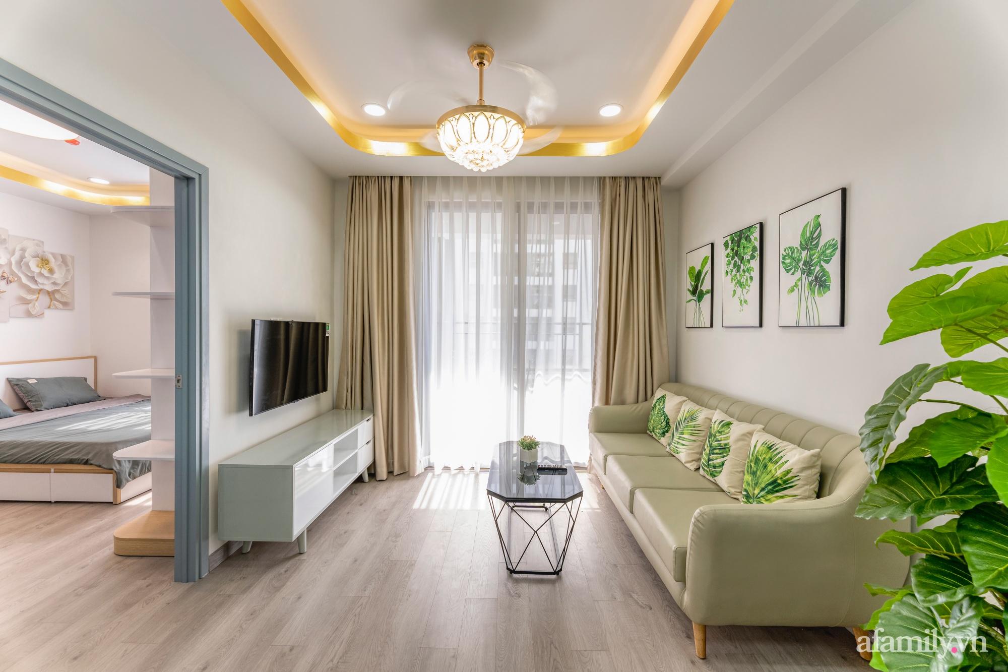 Căn hộ 70m² ghi điểm với không gian thoáng sáng cùng sắc màu gần gũi với thiên nhiên ở Sài Gòn - Ảnh 7.