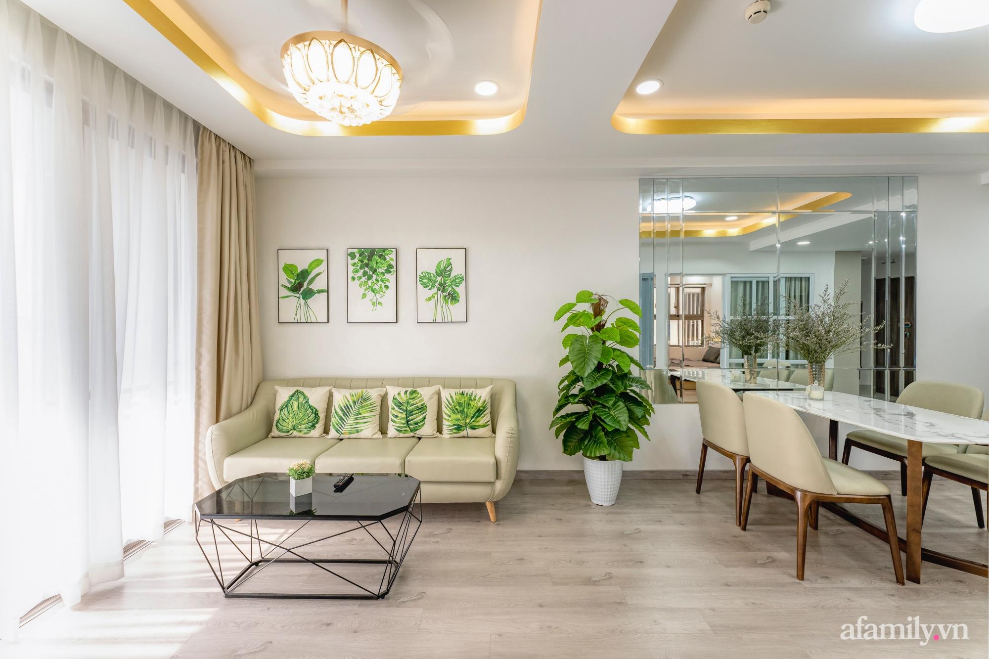 Căn hộ 70m² ghi điểm với không gian thoáng sáng cùng sắc màu gần gũi với thiên nhiên ở Sài Gòn - Ảnh 10.
