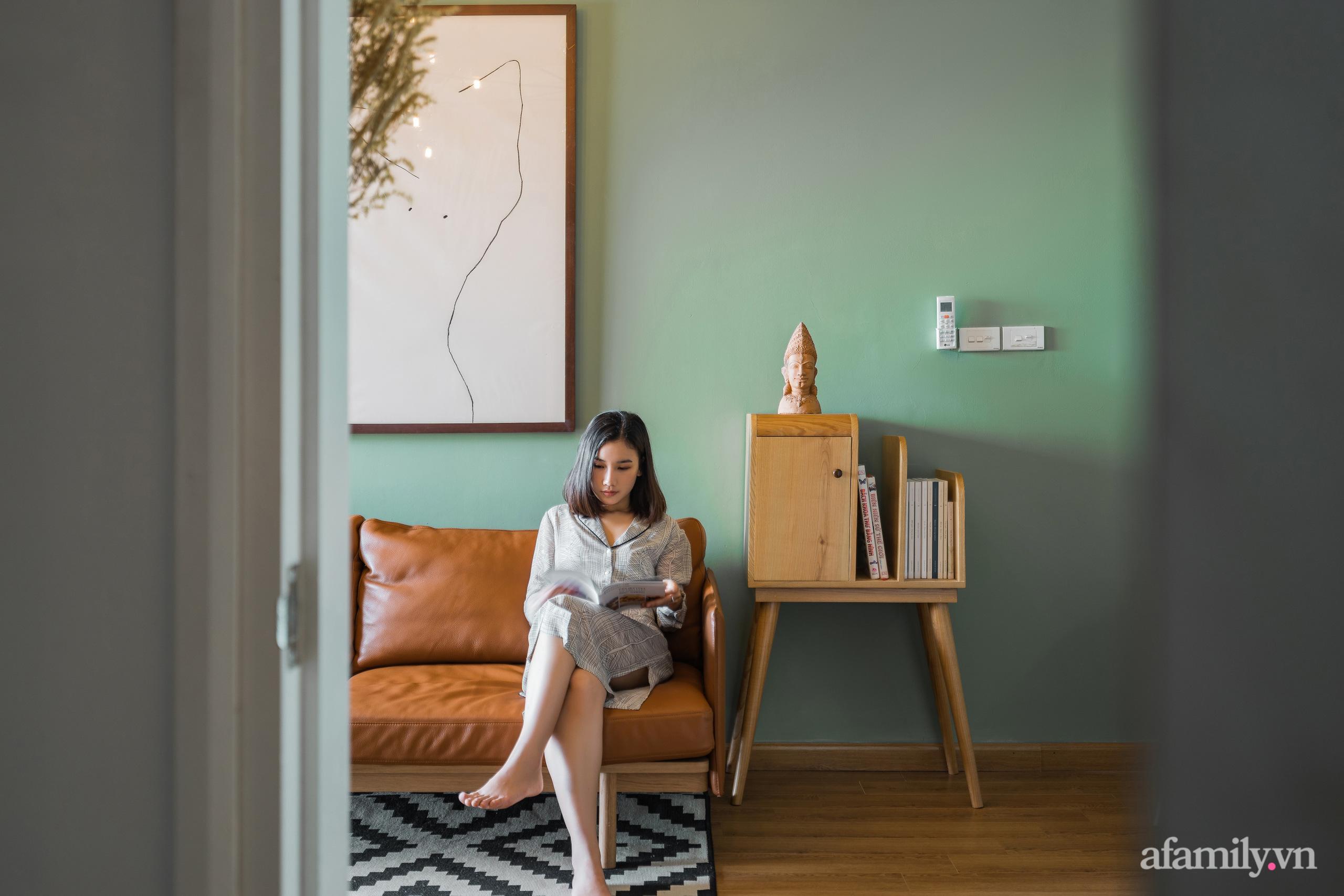 Căn hộ 60m² hoàn thiện nội thất tinh tế dành cho vợ chồng trẻ có chi phí 250 triệu đồng ở Hà Nội - Ảnh 7.