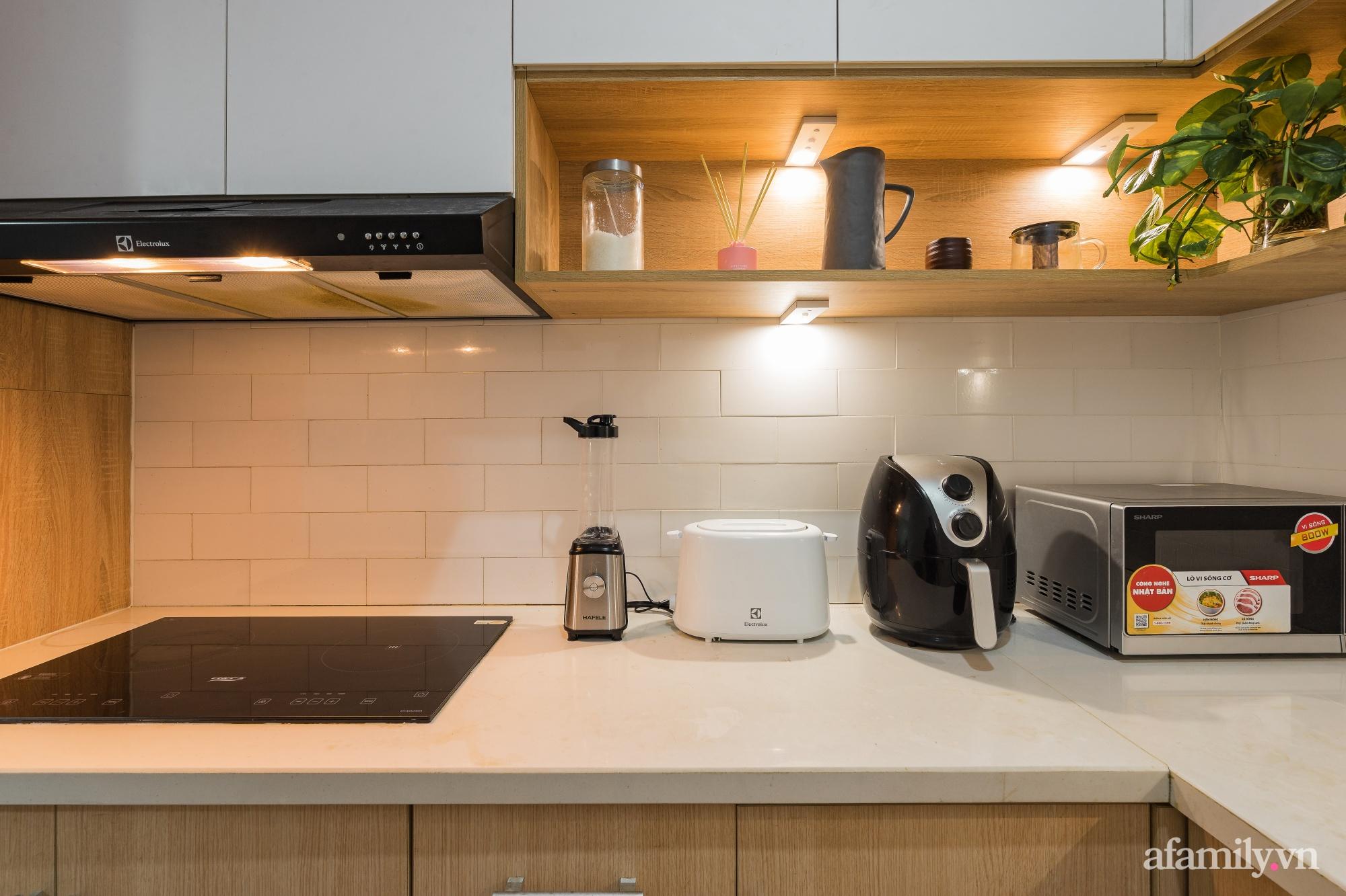 Căn hộ 60m² hoàn thiện nội thất tinh tế dành cho vợ chồng trẻ có chi phí 250 triệu đồng ở Hà Nội - Ảnh 18.