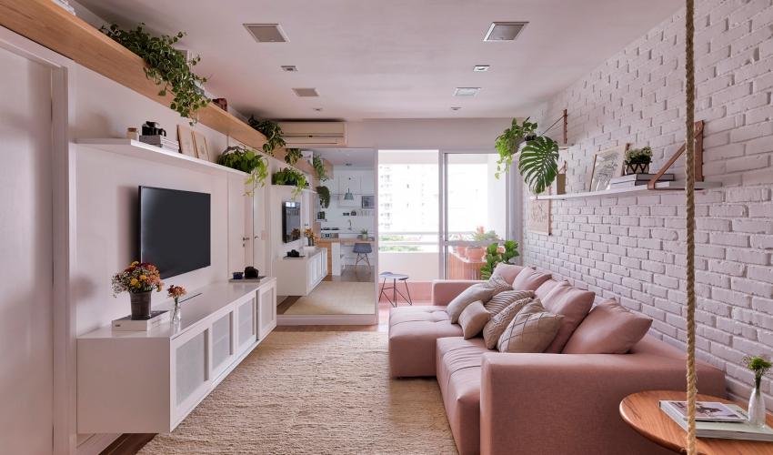 Cuộc sống ngọt ngào bên trong căn hộ 17m² với vẻ đẹp mang phong cách Bắc Âu - Ảnh 1.