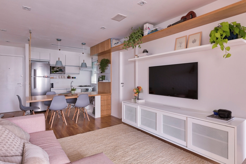 Cuộc sống ngọt ngào bên trong căn hộ 17m² với vẻ đẹp mang phong cách Bắc Âu - Ảnh 5.