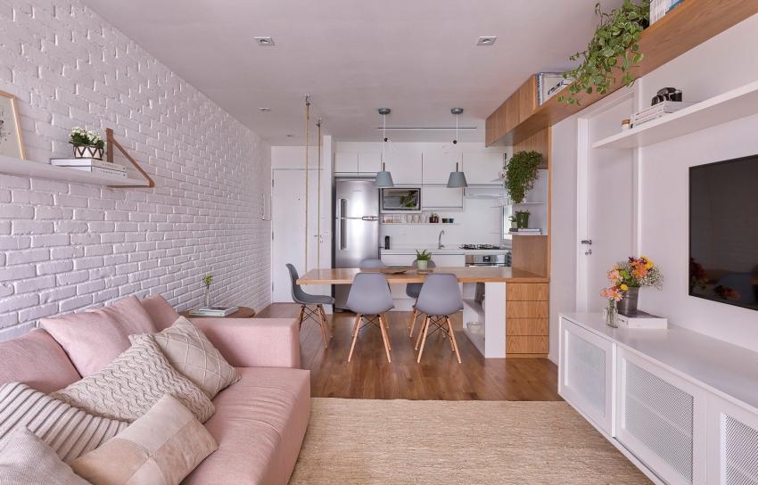 Cuộc sống ngọt ngào bên trong căn hộ 17m² với vẻ đẹp mang phong cách Bắc Âu - Ảnh 3.