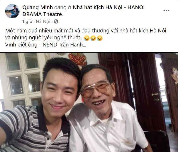 NSND Công Lý và dàn sao Việt thương tiếc NSND Trần Hạnh - Ảnh 4.