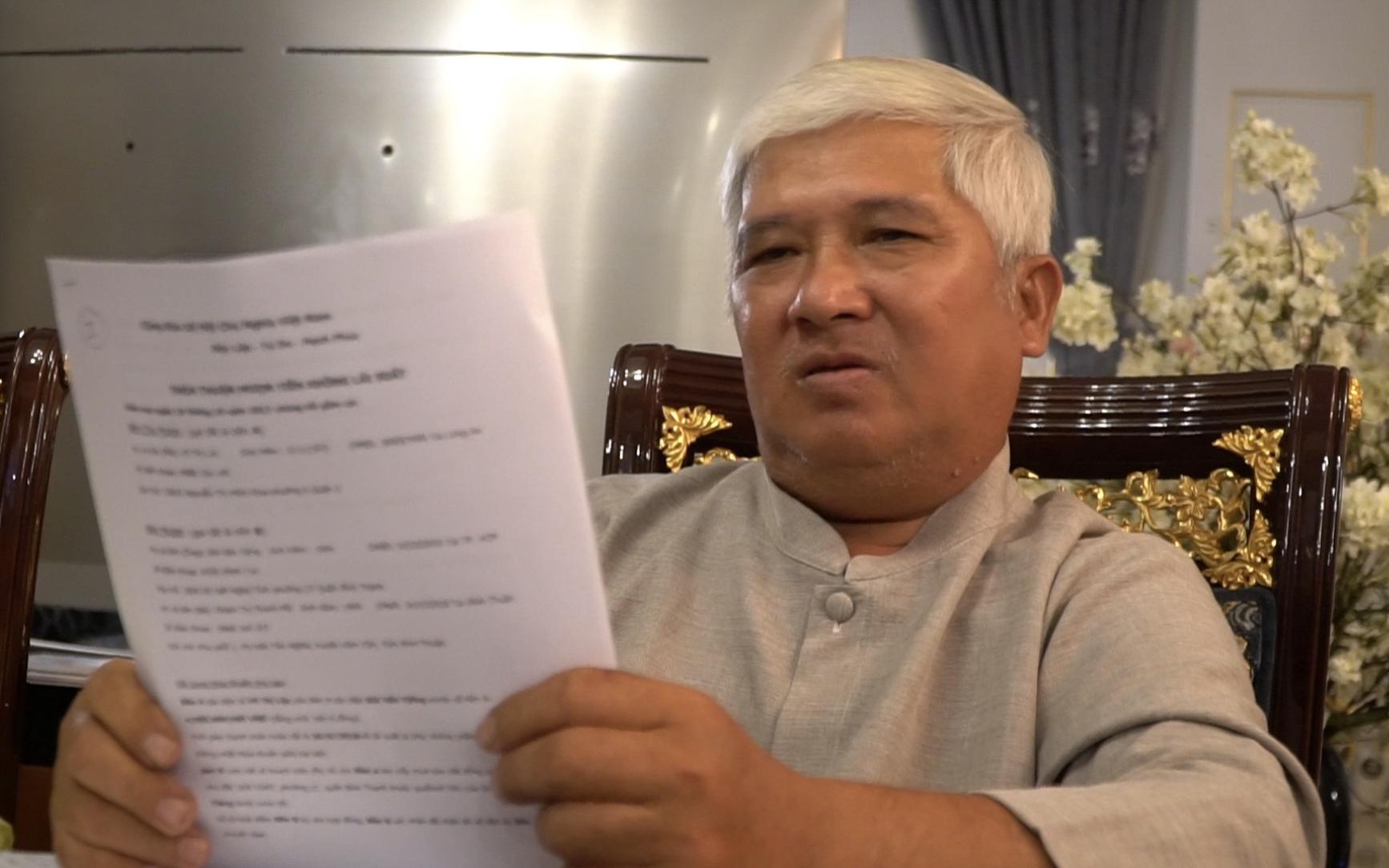 Thêm nạn nhân tố bị lương y Võ Hoàng Yên lừa ký giấy vay nợ tiền tỷ, đe doạ ép giao 19ha đất
