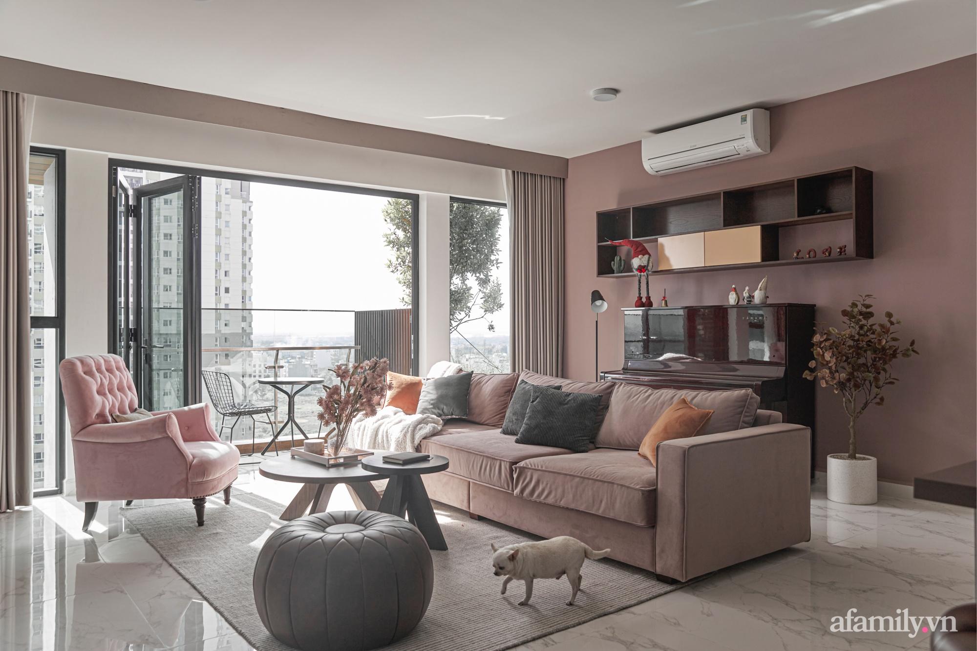 Căn hộ 170m² đẹp như bản tình ca lãng mạn nhờ sử dụng những gam màu nhẹ nhàng, nội thất cao cấp ở Sài Gòn - Ảnh 6.