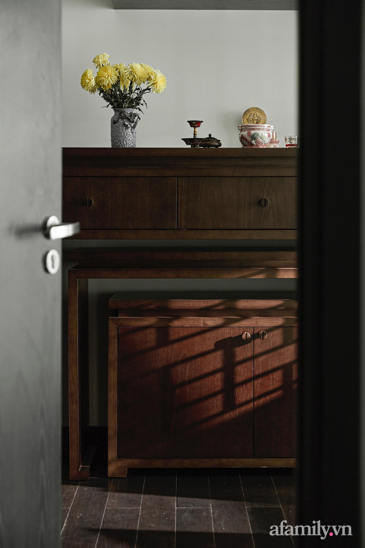 Căn hộ 170m² đẹp như bản tình ca lãng mạn nhờ sử dụng những gam màu nhẹ nhàng, nội thất cao cấp ở Sài Gòn - Ảnh 18.