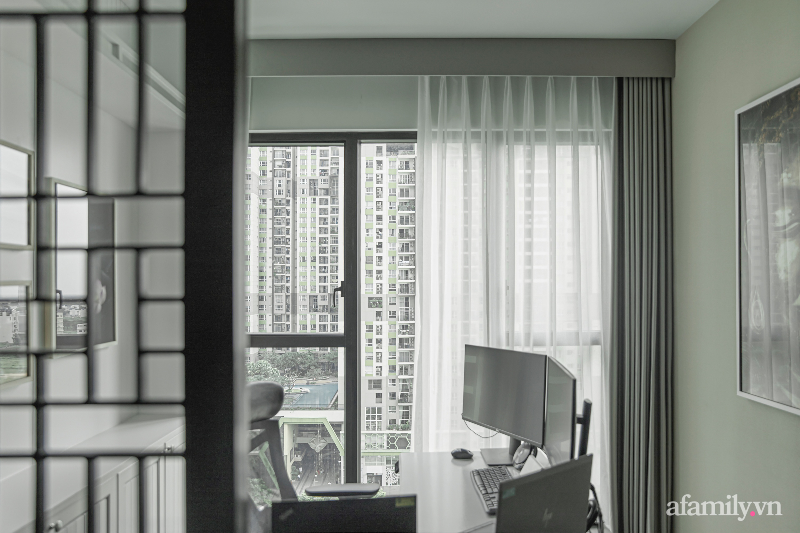 Căn hộ 170m² đẹp như bản tình ca lãng mạn nhờ sử dụng những gam màu nhẹ nhàng, nội thất cao cấp ở Sài Gòn - Ảnh 16.