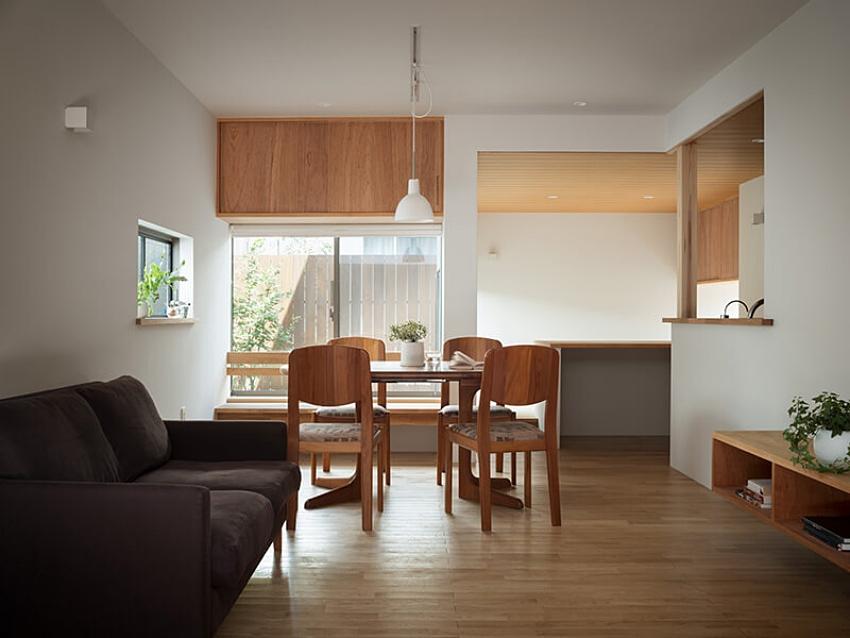 Nhà mặt phố với thiết kế 2 tầng chứa đựng những bình dị, an yên nhờ sử dụng nội thất gỗ - Ảnh 3.