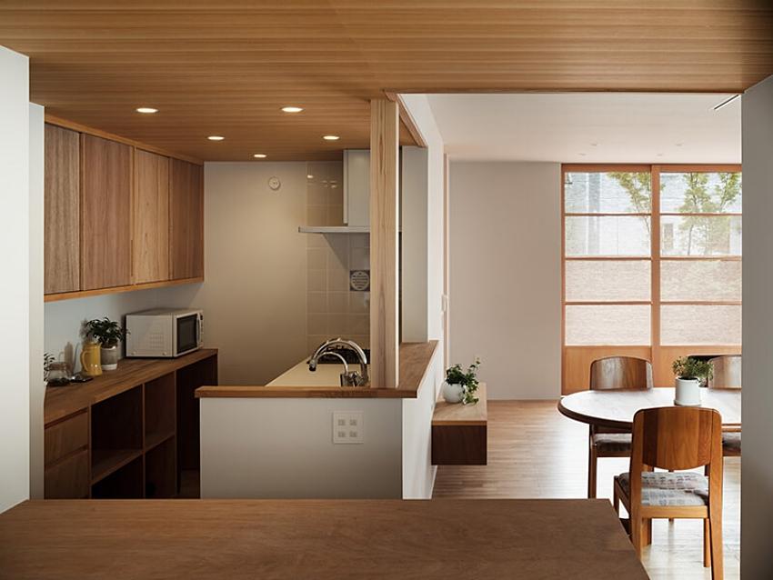 Nhà mặt phố với thiết kế 2 tầng chứa đựng những bình dị, an yên nhờ sử dụng nội thất gỗ - Ảnh 5.