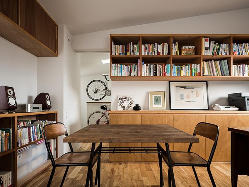 Nhà mặt phố với thiết kế 2 tầng chứa đựng những bình dị, an yên nhờ sử dụng nội thất gỗ - Ảnh 6.
